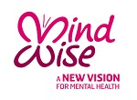 MindWise logo showing a butterfly and the words 'A new vision for mental health'