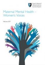 RCOG Maternal Mental Health – Women's Voices Feb 2017
