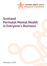 Scotland Perinatal Mental Health Briefing