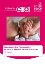 CCQI Standards for Community Perinatal Mental Health Services