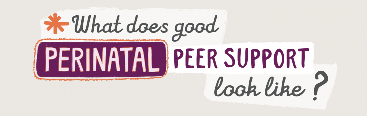 Perinatal Peer Support Principles